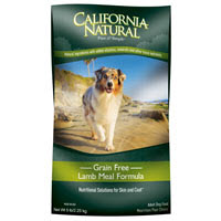 California Natural Grain Free Lamb Meal Formula Dry Dog Food