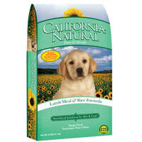 California Natural Lamb Meal and Rice Dry Puppy Food