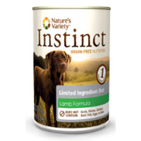 Natures Variety Instinct Grain Free Limited Ingredient Diet Lamb Formula Canned Dog Food