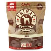 Primal Canine Raw Frozen Lamb Formula